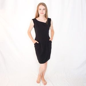 BCBG Black Mini Dress Jackie O NWT Classic #1041